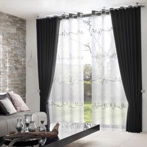 gardinen f r das wohnzimmer wohnen und wohlf hlenwohnen und. Black Bedroom Furniture Sets. Home Design Ideas