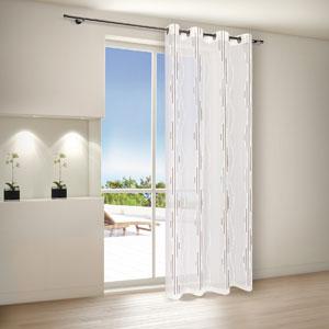 bestickte gardinen in modernem design mein. Black Bedroom Furniture Sets. Home Design Ideas