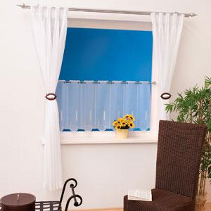 Panneaux in Kombination mit passendem Vorhang