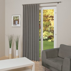 abstand von der gardine zur wand vorh nge richtig. Black Bedroom Furniture Sets. Home Design Ideas