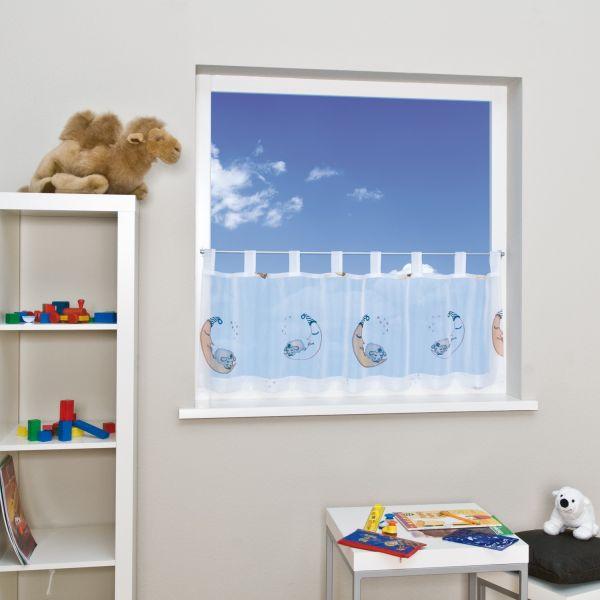 Gardinen im kinderzimmer wohnen und wohlf hlenwohnen und for Schlaufenschal kinder