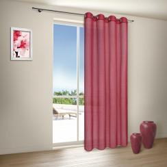Ösenschal Ibiza in rot von mein-gardinenshop.de