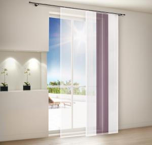 Flächenvorhang mit vielen Gestaltungsmöglichkeiten. Vorhänge preiswert bestellen auf mein-gardinenshop.de