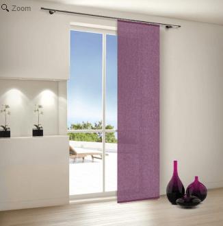 dekorieren mit schiebegardinen tipps und trickswohnen und wohlf hlen. Black Bedroom Furniture Sets. Home Design Ideas