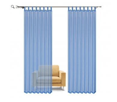 gardinen trends materialien f r schlaf und wohnzimmerwohnen und wohlf hlen. Black Bedroom Furniture Sets. Home Design Ideas