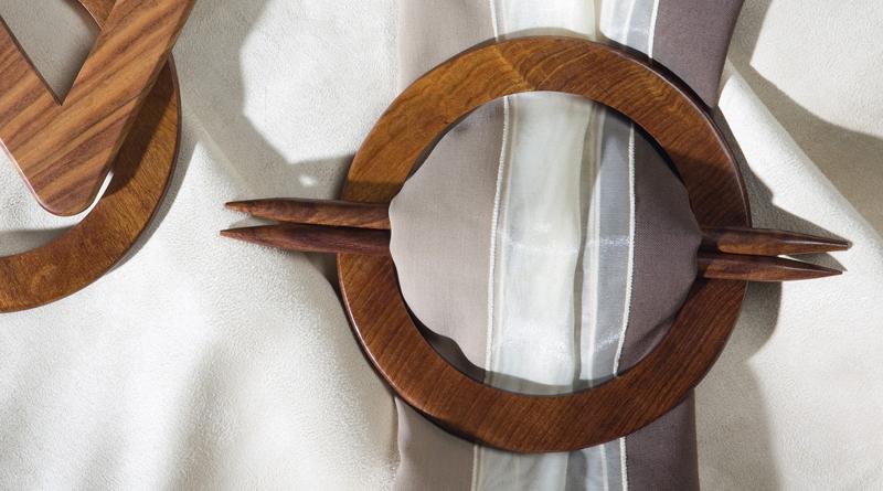 Dekorationsspangen aus Holz