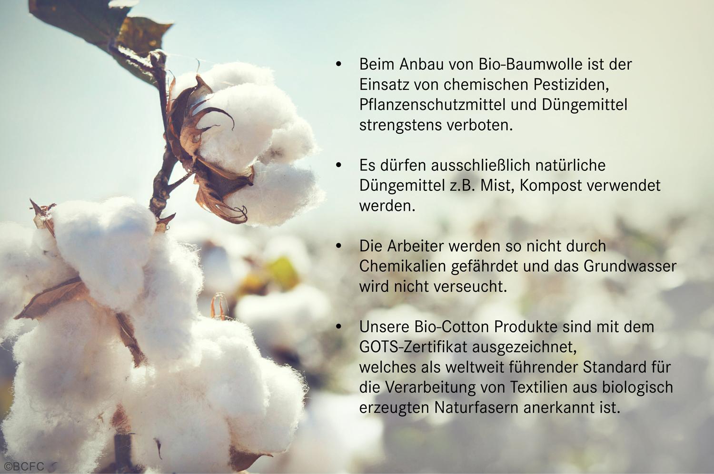 Vorteile Bio Baumwolle