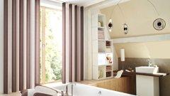 Gardinenvariationen Badezimmervorhänge - Mein Gardinenshop