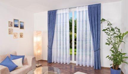 gardinenvariationen gardinenstores. Black Bedroom Furniture Sets. Home Design Ideas