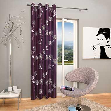 blickdichter Vorhang